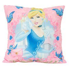 Cuscino Cenerentola -  Cinderella Princess Pillow  www.carillobiancheria.it