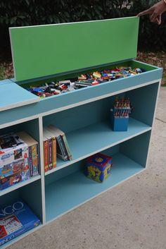 MOM Tip: Bookcase Storage Hack #247moms
