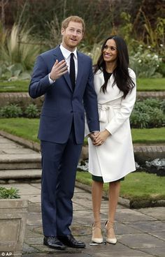 Future royal: Prince Harry and Meghan announced engagement their engagement on Monday and ...