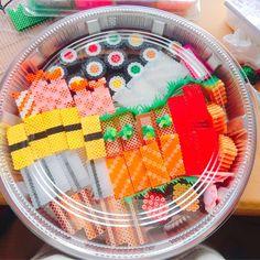 Easy Perler Bead Patterns, Fuse Bead Patterns, Diy Perler Beads, Pearler Beads, Beading Patterns, Hobbies And Crafts, Diy And Crafts, Arts And Crafts, Kawaii Diy