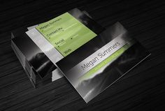 112 Best Black Business Cards Templates Images Black Business Card
