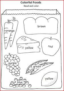 Cuando trabajamos colores y los niños dominan el tema , podemos aprovechar para repasar los colores y enseñarles algunas cosas nuevas como f...