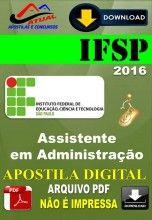 Apostila Digital Concurso IFSP Assistente em Administracao 2016