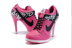 Nike high heels =D