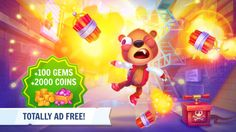 Despicable Bear (Ad Free) - Top Beat Action Game screenshot-1