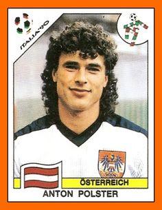 Toni Polster - Italia 90 - one of the few international famous Austrian football players.