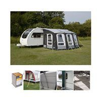 Kampa Dometic Rally Air Pro 390 Plus Caravan Awning Package Deal 2019 Left Campingworld Co Uk Caravan Awnings Inner Tents Awning