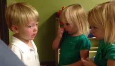 Little Kids Start Serious Argument