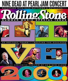 RS 847: Live 2000 Image - 2000 Rolling Stone Covers | Rolling Stone
