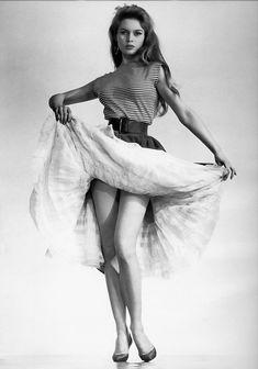 Brigitte Bardot, 1956. Photo by Lévin Sam
