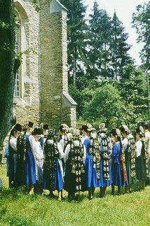 Besucher der Muttertagsausstellung in Augsburg