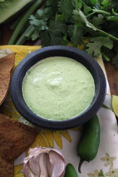 Jalapeno Ranch - a Chuy's copycat, and so easy to make at home!
