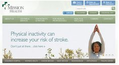 Mission Health- one of the top ranked hospitals in the country needed a website worthy of their name. We work year round with Mission to provide sites and content that make their guests experience easy and efficient!  #healthcare #hospital #asheville #northcarolina #health #doctor #nurse #webdesign #website #webdevelopment