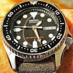 #seiko #skx # skx013 #diver #automatic #seikofam # 7s26 # 腕 時 精工 # atch #watchfam