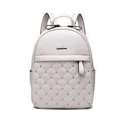 ACELURE Women Backpack Hot Sale Fashion Causal bags High Quality bead female  shoulder bag PU Leather Backpacks for Girls mochila e1afc4fceb661
