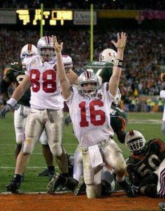 People used to sleep on my boy Craig Krenzel! He made plays! One of the great OSU quarterbacks!