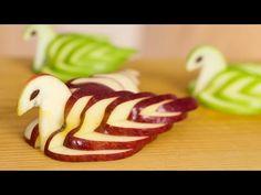 How to Make Banana Decoration | Banana Art | Fruit Carving Banana Garnishes - YouTube