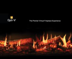 Believe Your Eyes! Opti-V™ Duet uses unprecedented technology to render flames and sparks for a virtual fireplace experience like no other. The unique and patent protected design combines ultra realistic flickering flames with three dimensional LED logs that sporadically spark and crackle! Virtual Fireplace, Electric Fireplaces, Logs, Three Dimensional, Believe In You, Basement, Technology, Unique, Design