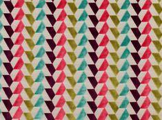 Tara fabric in Strawberry. #villanovafabric #folium