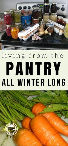 How to live from the pantry all winter | Posted by: SurvivalofthePrepped.com