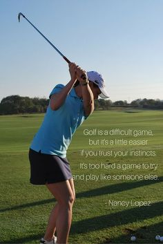 When choosing clothes for playing golf, remember that most courses require a shirt with a collar. You will want a slightly loose fitting shirt made of a fabric that will wick moisture away from your skin. Choose subdued colors that won't distract other players or draw unnecessary attention to yourself. This is an essential component of golf etiquette. * Continue with the details at the image link. #golfislife