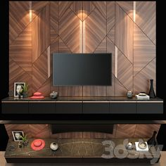 Wall Unit Designs, Living Room Tv Unit Designs, Tv Stand Designs, Office Interior Design, Luxury Interior, Interior Styling, Tv Unit Decor, Tv Wall Decor, Tv Cabinet Design