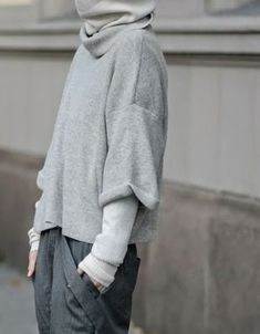Grey layered.
