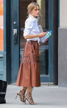 Olivia Palermo Photos - Olivia Palermo Spotted Out in NYC - Zimbio