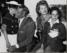 Desi Arnaz Jr. Actor | the arnaz family in 1959 are from left lucie arnaz desi arna ...