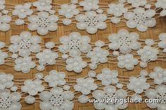 Guipure lace trim/Lace Fabric/Wedding Lace/Vintage Lace/Antique Lace/L | Zeng's Lace