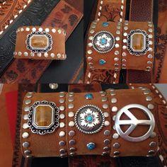 3 cuffs from 1 belt!