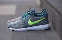 "Nike Flyknit Roshe Run NM ""Mineral Teal"""