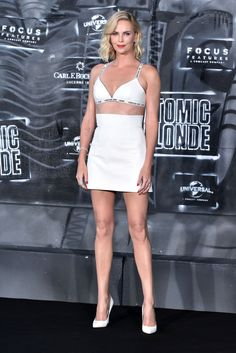 Charlize Theron - Attends 'Atomic Blonde' Premiere in Berlin, Germany 07/17/2017