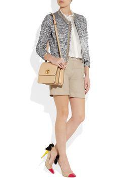 DAY Birger et Mikkelsen Laretta leather shorts NET-A-PORTER.COM