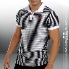 Tricou Barbati Polo Shirt, Mens Tops, Shirts, Places, Fashion, Moda, Polos, Fashion Styles, Polo Shirts