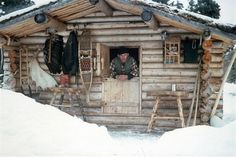 """This guy knew what he was doing -----Dick Proenneke """"Alone in the Wilderness"""". Look it up!"""