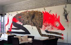 Spencer Keeton Cunningham's Illustration And Street Art Recontextualizes Rez Life