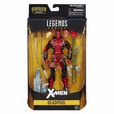 Original 6 Inch Legends Series Deadpool Includes Figure Xmen with 11 Accessories