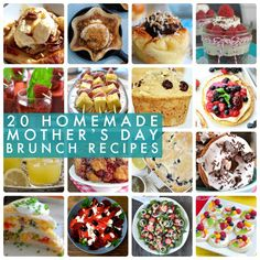 20 Homemade Mother's Day Brunch Ideas!! -- Tatertots and Jello