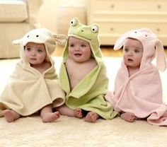 @Staci Comden @Joy Comden @Alison Arellano We have to do a picture like this w/our girls in their bath time towels!