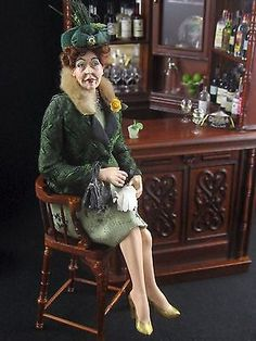 Dollhouse Character Doll by Marcia Backstrom OOAK