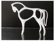 #3Dprinted #Horse by wuct88