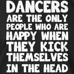 A little #dancehumor for #wackywednesday! #dance #flexibility #kick #kickinthehead #dancestudio #colbycenterfordance #smallpleasures #danceisfun #maitlandfl #showoff #highkick #jazz #tap #ballet #kickline