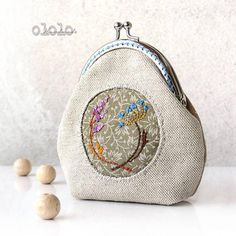 Shop Etsy, the place to express your creativity through the buying and selling of handmade and vintage goods. Frame Purse, Pouch, Wallet, Coin Purse, Etsy Shop, Purses, Creative, Handmade, Herbs