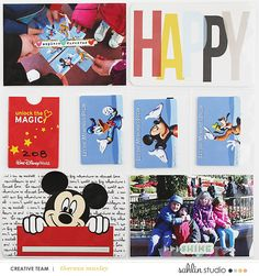 Getting There! by Theresa Moxley at the Lilypad #disneyscrapbooking…