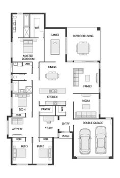 dual occupancy house plans - Google Search   Home designs ...