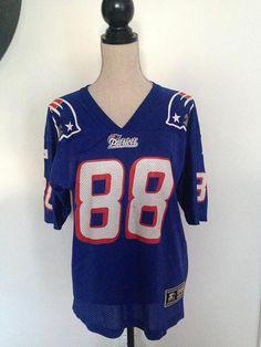 5b39aa23f Vintage Terry Glenn  88 New England Patriots 90s Starter Jersey
