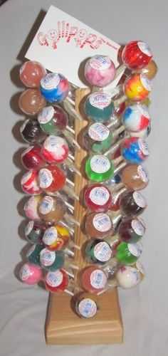 Lollipop Fundraiser by Gollipops! Also a great way to add to your income via Candy Sales & accounts. Beautiful for candy arrangements & creative gifts. Very inexpensive and easy to turn around and make a *47%* net profit.  Please REPIN & contact me for additional Details!! :)
