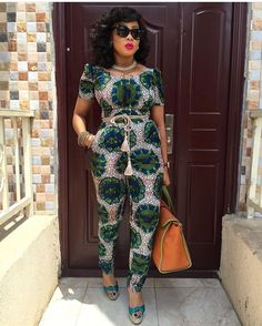 Rock the Latest Ankara Jumpsuit Styles these ankara jumpsuit styles and designs are the classiest in the fashion world today. try these Latest Ankara Jumpsuit Styles 2018 African Inspired Fashion, African Dresses For Women, African Print Dresses, African Print Fashion, Africa Fashion, African Attire, African Wear, African Women, Fashion Prints