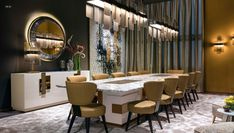 Elegance and timeless quality for Sicis creations: discover the 'Dimora Sicis' - Sicis Diary Murano Chandelier, Modern Chandelier, Contemporary Plays, Luxury Italian Furniture, Coffee Shop Design, Chair Price, Eclectic Style, Dining Room Design, Upholstered Chairs